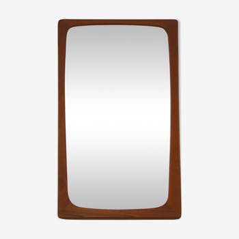 Miroir danois en teck 40x70cm