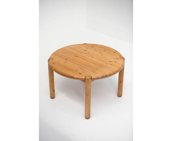 Table à manger rainer daumiller en bois de pin