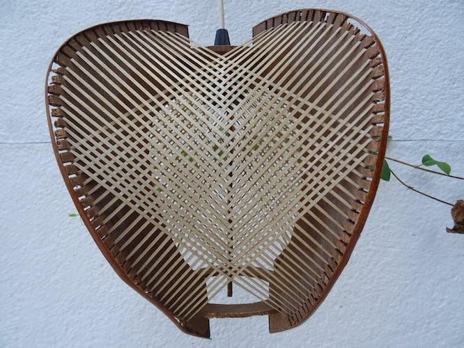 Suspension scandinave fil et bois