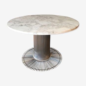 Table de salle manger vintage d 39 occasion - Table de salle a manger en marbre ...