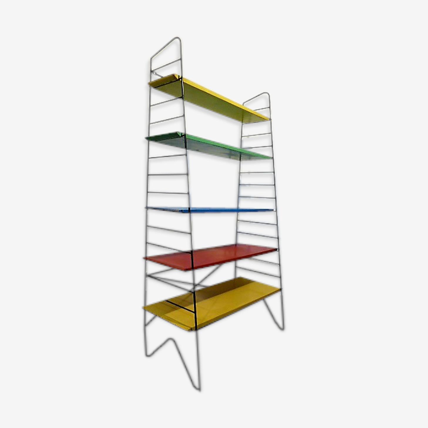 Etagère bibliothèque String multicolore, 1960