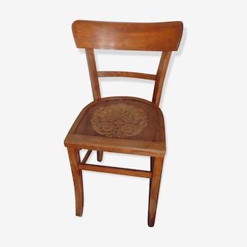 Chaise bistrot imprimée