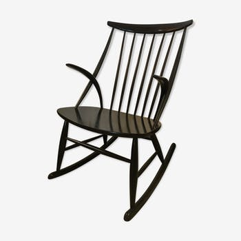 Rocking chair by Illum Wikkelso