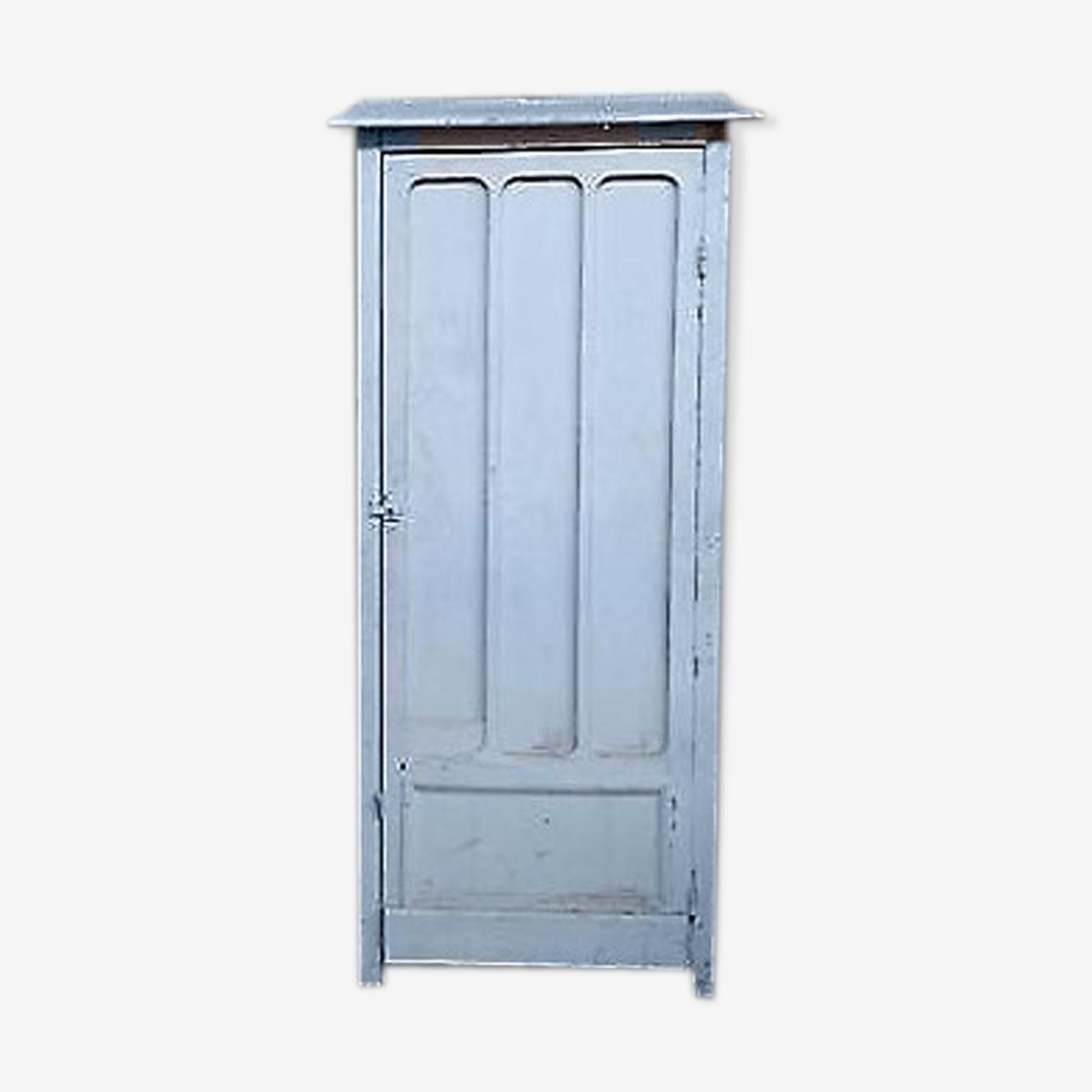 Armoire Murale A Une Porte Sur Encadrement - Bois (Matériau) - Blanc