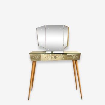 votre coiffeuse en en verre ou cristal coup de c ur vous attend ici. Black Bedroom Furniture Sets. Home Design Ideas