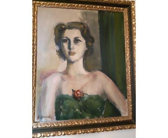 La dame à la rose