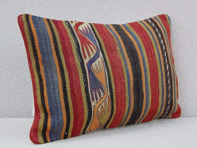 "Coussin turc Kilim 35x50 / Kilim pillow 14""20"""