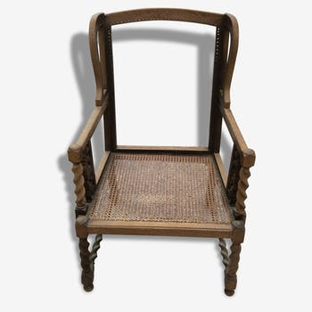 Former Chair caning