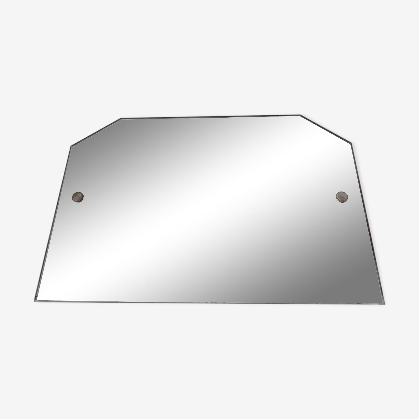 Hexagonal mirror with rope 30/40 - 54x36cm
