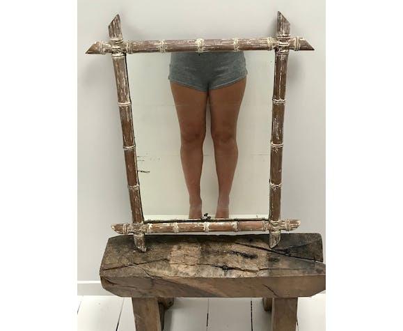 Miroir ancien 1900 52x63cm