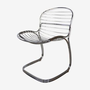 """Sabrina"" chair by Gastone Rinaldi for Rima 1970"