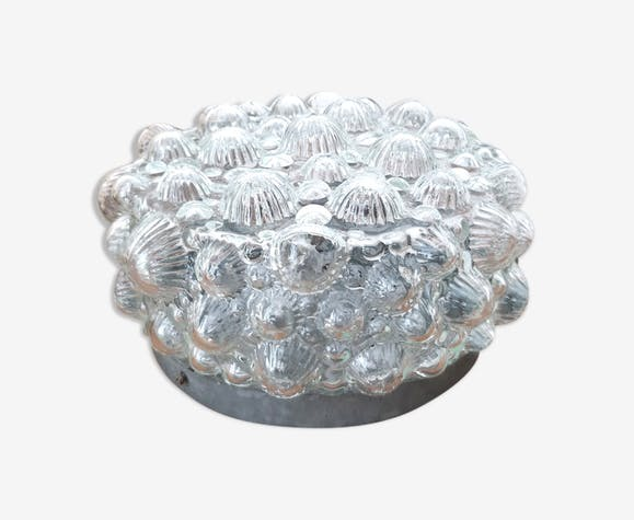 Vintage glass bubble ceiling light