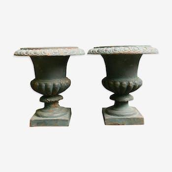 Pair of vases Medici make