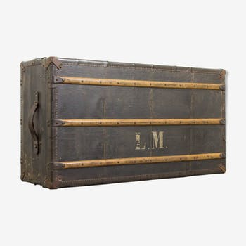 "Antique musician suitcase ""L.M."""