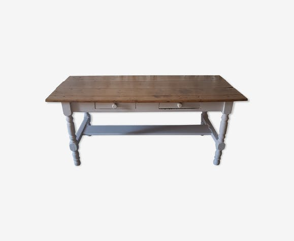 Old country house farm table