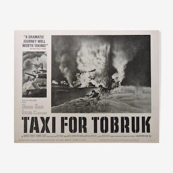 "Poster ""Taxi for Tobruk"""
