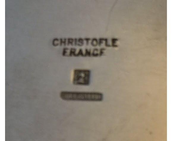 Boite en métal argenté Christofle