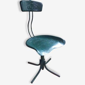Chaise d'atelier TCM vintage