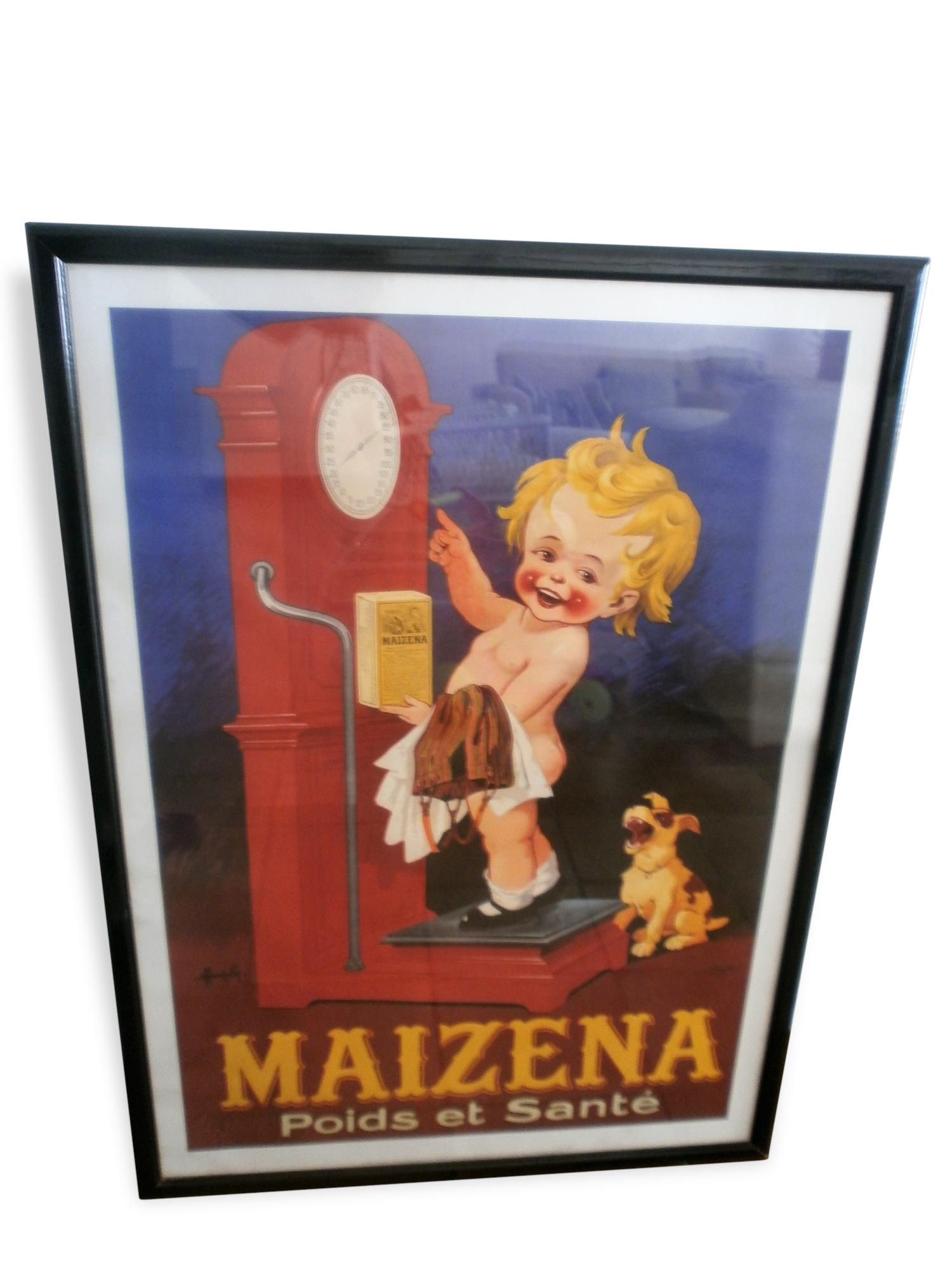 Affiche publicitaire de Marcellin Auzolle (1862-1942)