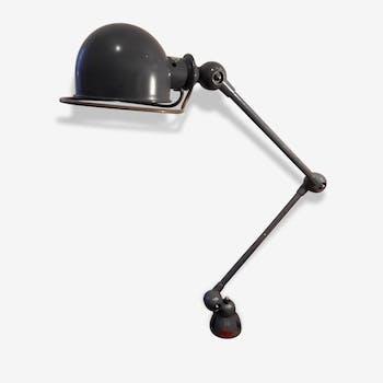 Ancienne lampe loupe articul e waldmann m tal gris - Lampes jielde anciennes ...