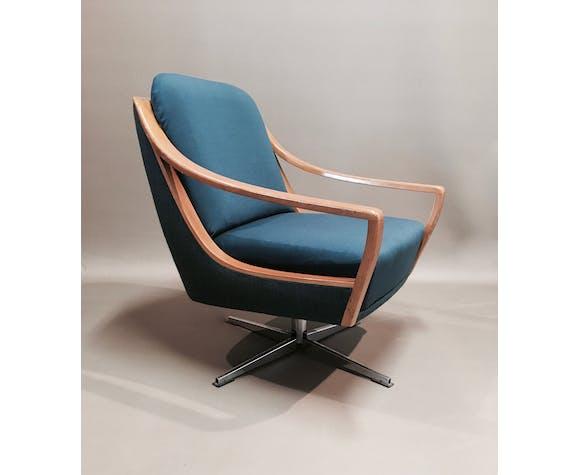 """1950 """"Scandinavian design"""" swivel chair"""