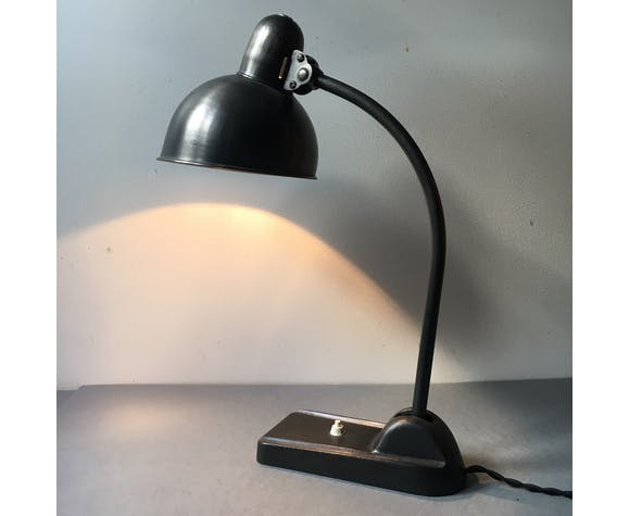 Lot 2 lampes bureau allemandes bauhaus