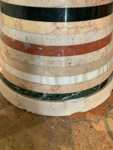 Table basse italienne en marbre