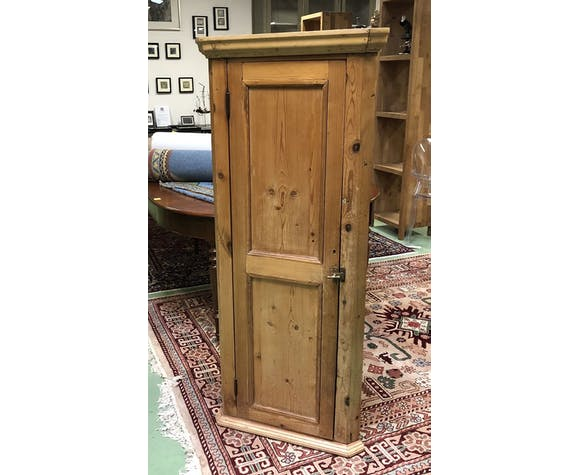 Fir corner wardrobe early 20th century