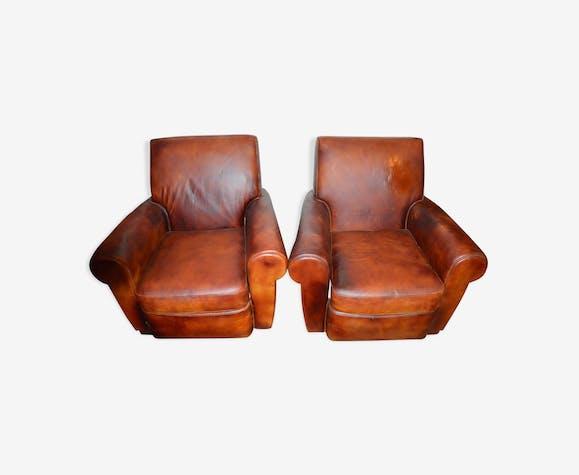 pair of armchair 1950