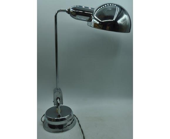 Lampe design articulée Jumo 600 chromée de 1940