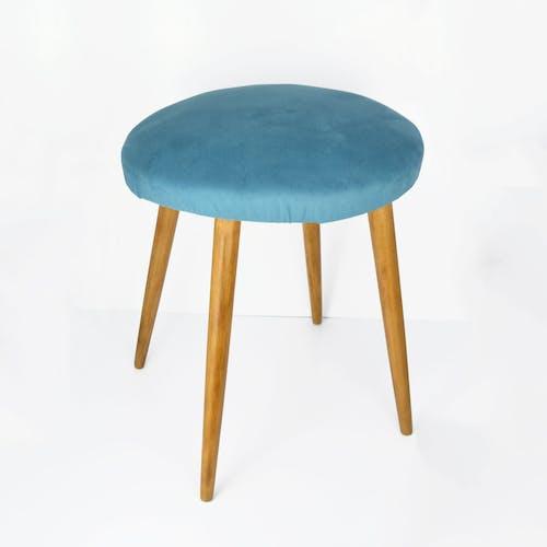 Upholstered stool, 1960s