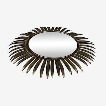 Miroirs vintage et anciens d 39 occasion for Miroir convexe 50 cm
