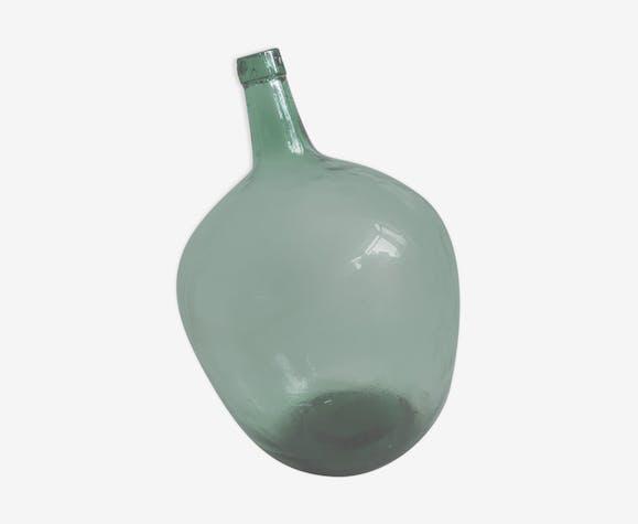 Dame Jeanne 20L vert clair ronde poire