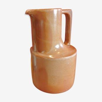 Brenne stoneware pitcher