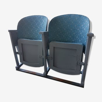 Pair of theater chairs