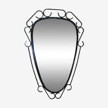 miroirs r troviseur vintage miroirs de forme libre d. Black Bedroom Furniture Sets. Home Design Ideas