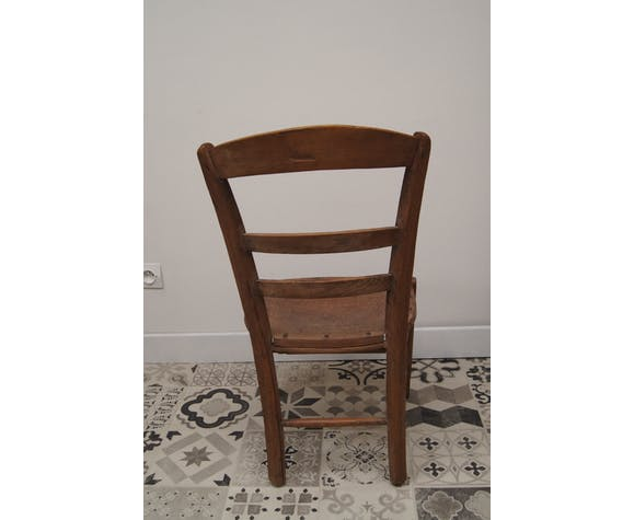 Ancienne chaise bistrot Luterma