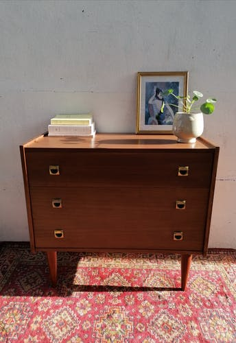 Commode vintage style scandinave
