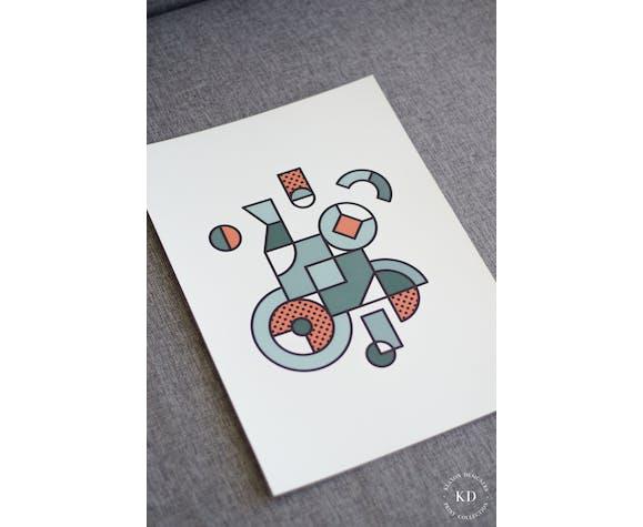 Affiche A3 - #001 - Série numérotée