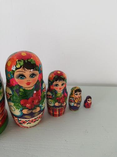 Matriochka poupées russes années 70