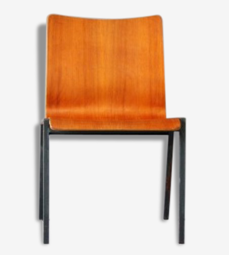 Chaise teck  empilable Danemark