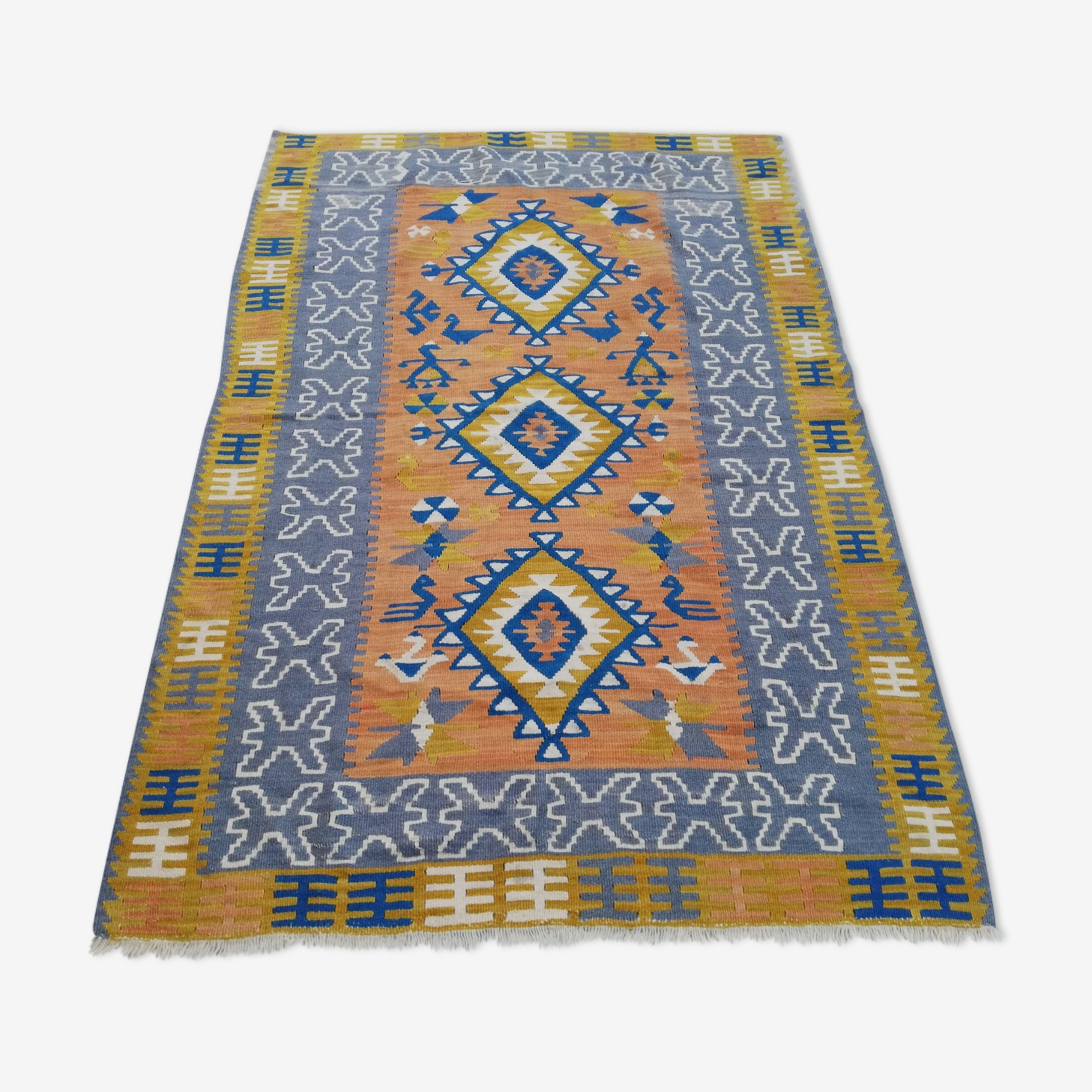 Tapis kilim berbère 155x105cm