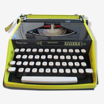 machine a ecrire olympia m tal gris vintage 16550. Black Bedroom Furniture Sets. Home Design Ideas