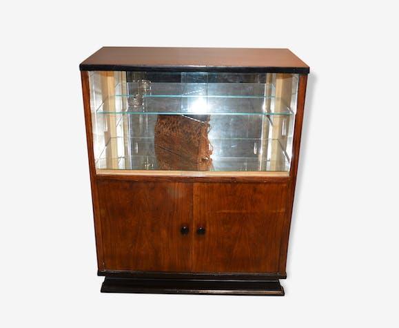Meuble Bar Vitrine Wood Brown Art Deco 136920