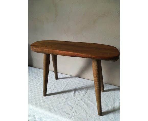 Table D Appoint En Bois Brut Selency