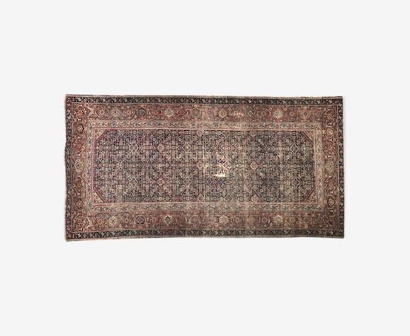 Tapis ancien persan ferahan 19éme siècle  156x306 cm