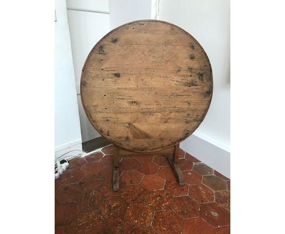 Table ronde de vigneron