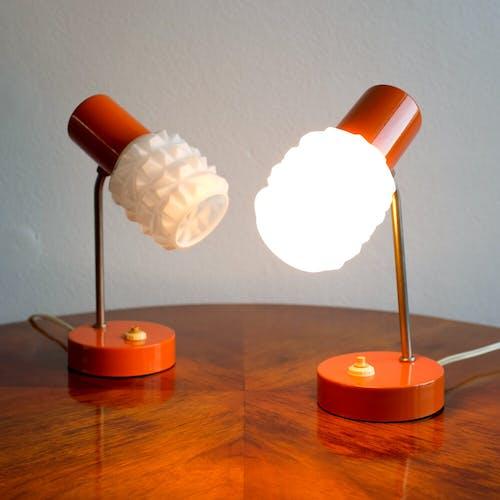 Pair of Office lamps Kamenický Šenov