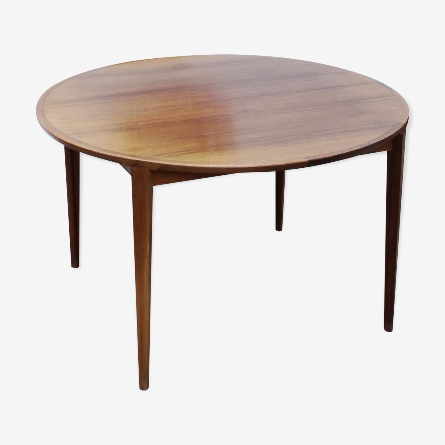 Table danoise en palissandre de Rosengren Hansen