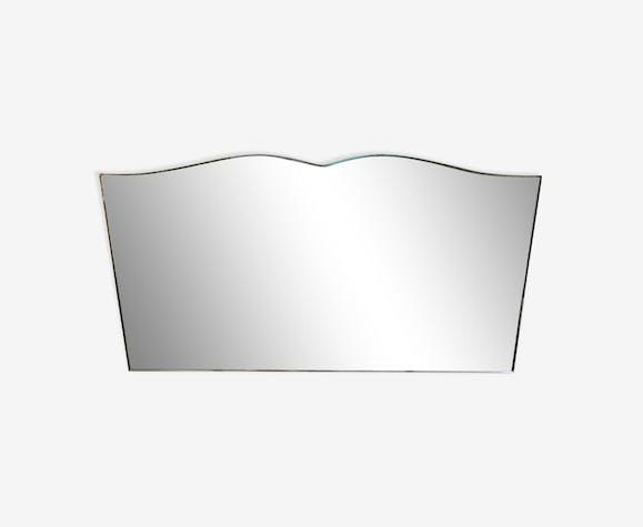 Mirror wall mustache
